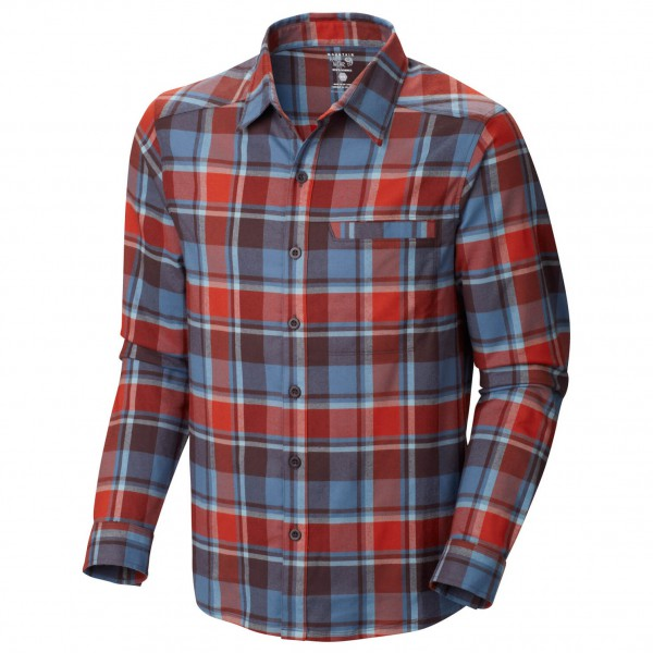 Mountain Hardwear - Stretchstone Flannel LS Shirt - Overhemd