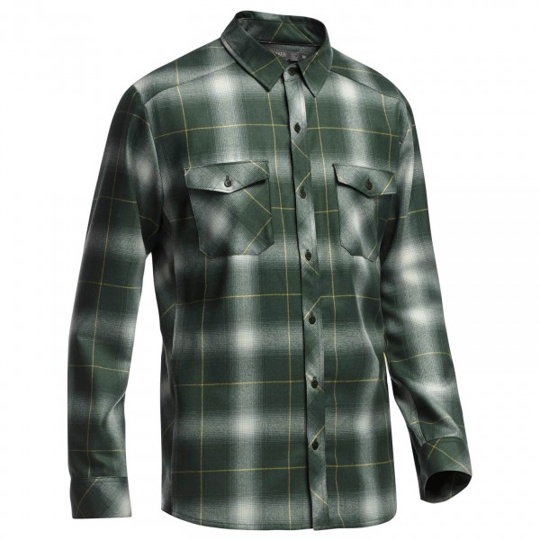 Icebreaker - Lodge LS Shirt Plaid - Paita