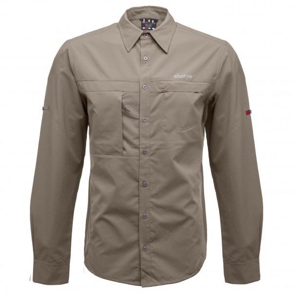 Sherpa - Tansen Long Sleeve Shirt - Paita