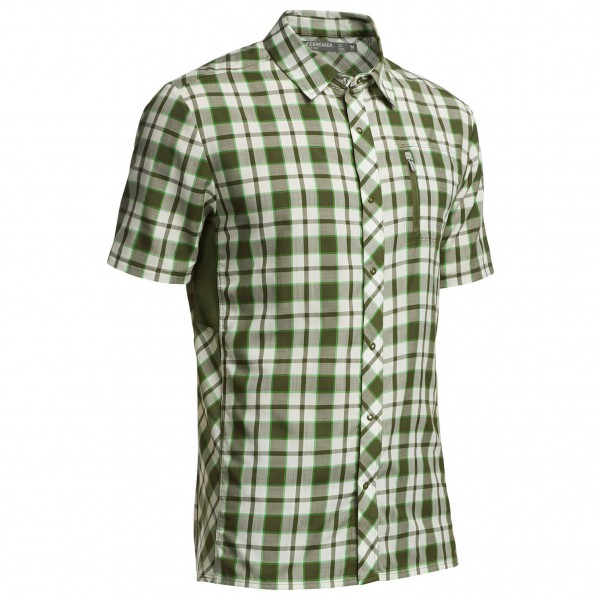 Icebreaker - Compass SS Shirt Plaid - Shirt