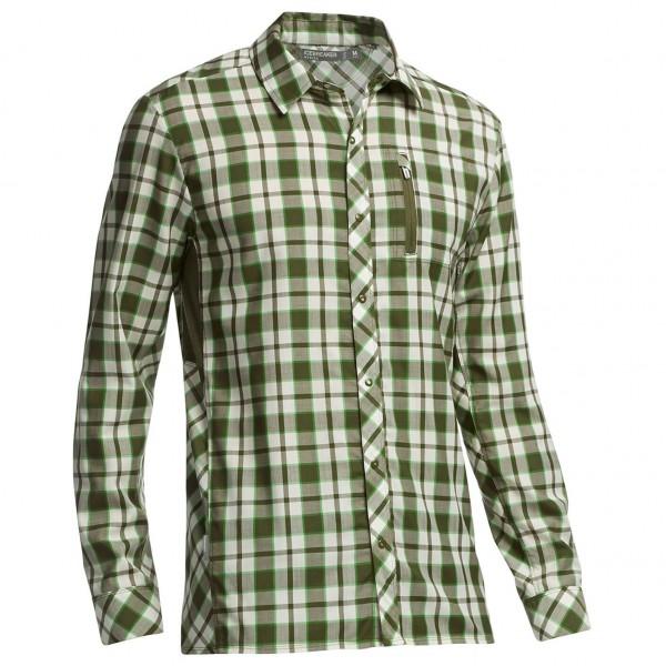 Icebreaker - Compass LS Shirt Plaid - Hemd