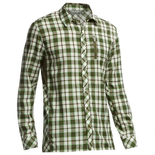 Icebreaker - Compass LS Shirt Plaid - Paita