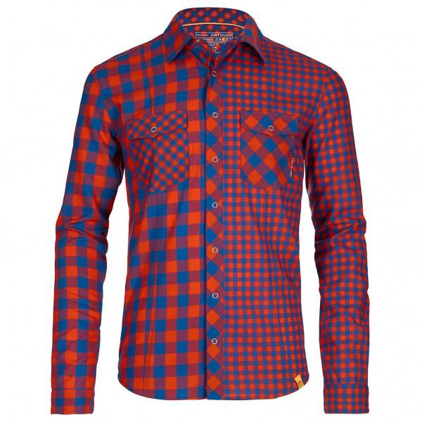 Ortovox - R'N'W Cool Double Check Shirt Long Sleeve - Paita