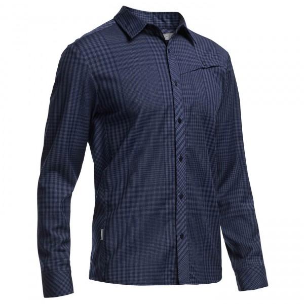 Icebreaker - Departure L/S Shirt Plaid - Hemd