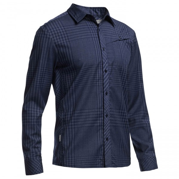 Icebreaker - Departure L/S Shirt Plaid - Shirt
