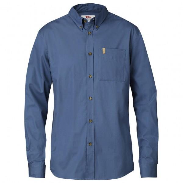 Fjällräven - Övik Solid Twill Shirt L/S - Paita