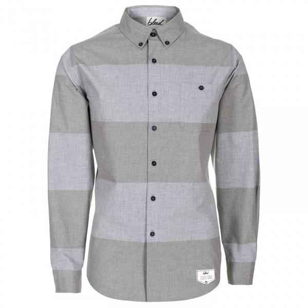 Bleed - Striped Melange Shirt - Overhemd