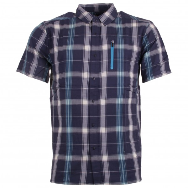 Icebreaker - Compass Ii S/S Shirt Plaid - Shirt