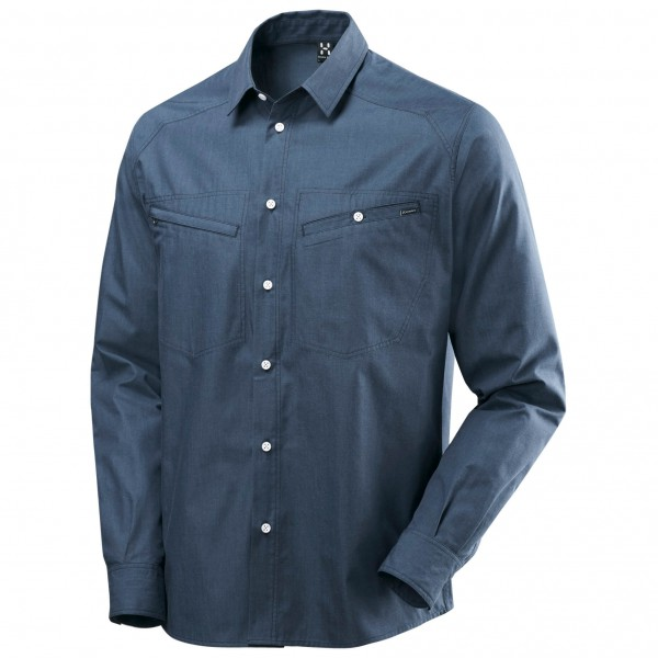 Haglöfs - Saba III L/S Shirt Denim - Shirt