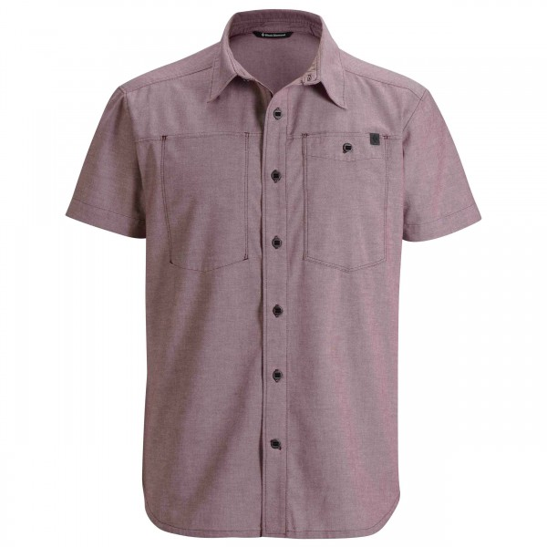 Black Diamond - S/S Chambray Modernist Shirt - Chemise