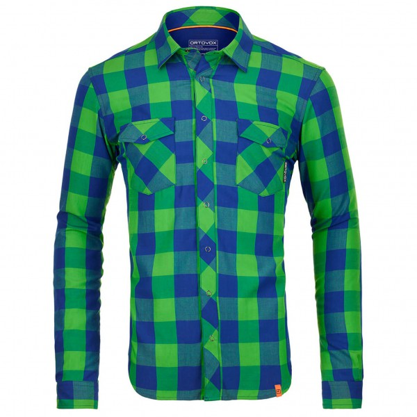 Ortovox - L/S Stretch Back Shirt - Overhemd
