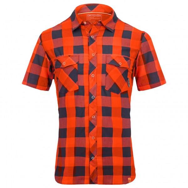 Ortovox - S/S Stretch Back Shirt - Hemd