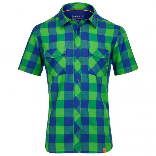 Ortovox - S/S Stretch Back Shirt - Overhemd