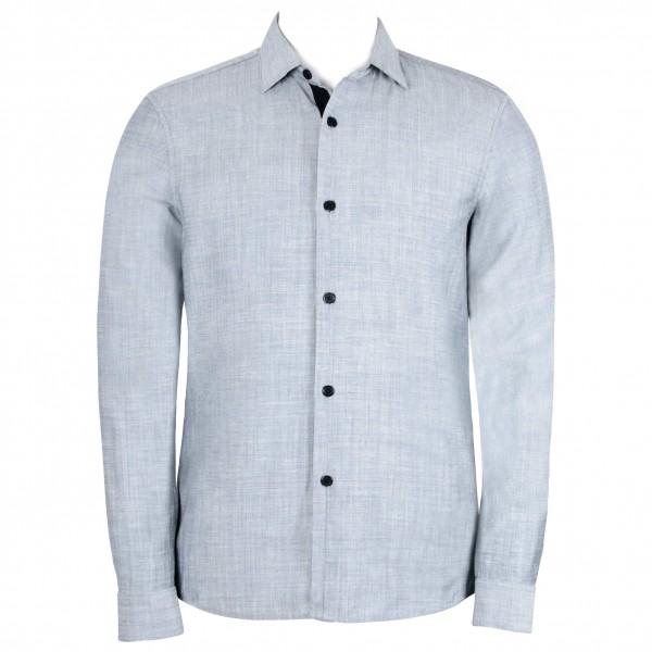 Alchemy Equipment - Linen Blend L/S Shirt - Overhemd