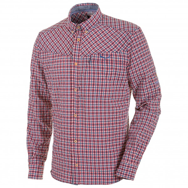 Salewa - Fanes Check Dry L/S Shirt - Chemise
