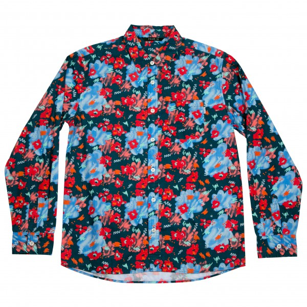 Poler - Floral Fantasia Long Sleeve Button Up - Skjorta