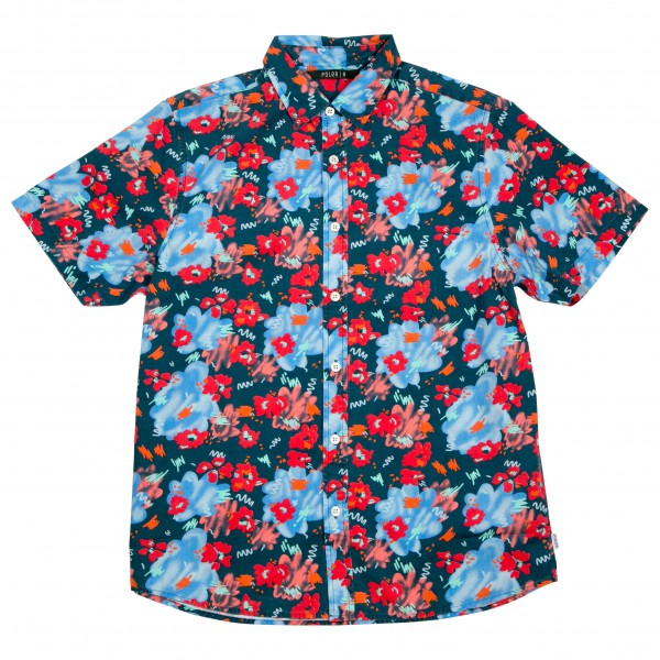 Poler - Floral Fantasia Short Sleeve Button Up - Paita