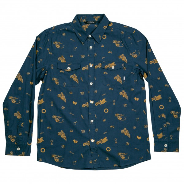 Poler - Wheelie Long Sleeve Button Up - Overhemd