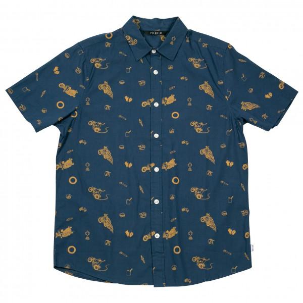 Poler - Wheelie Short Sleeve Button Up - Skjorte