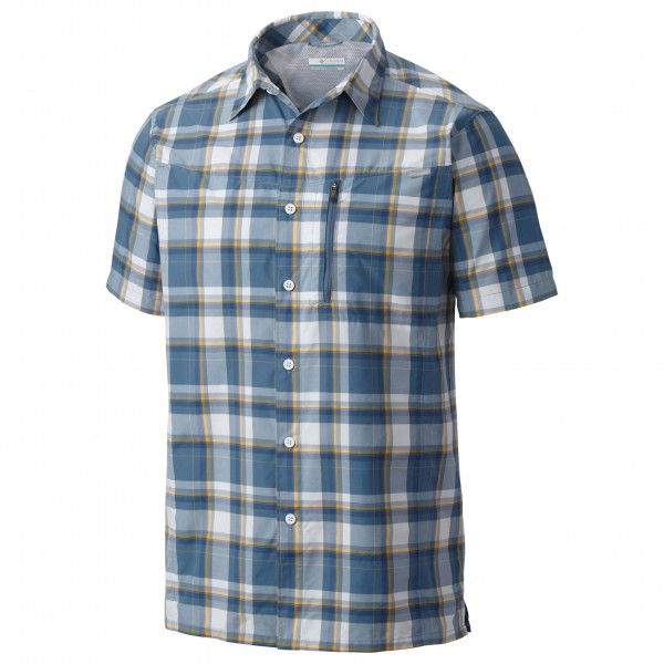 Columbia - Silver Ridge Plaid Short Sleeve Shirt - Overhemd