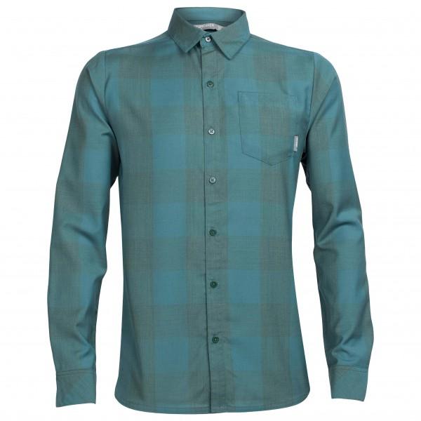 Icebreaker - Departure II L/S Shirt Plaid - Paita