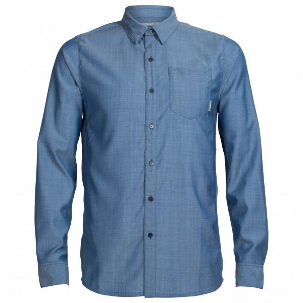 Icebreaker - Departure II L/S Shirt Plaid - Overhemd