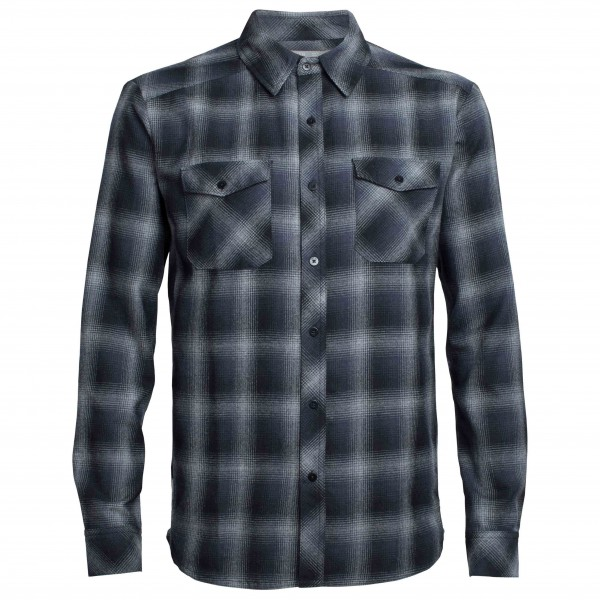 Icebreaker - Lodge L/S Flannel Shirt - Shirt