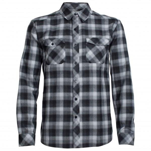 Icebreaker - Lodge L/S Flannel Shirt - Overhemd