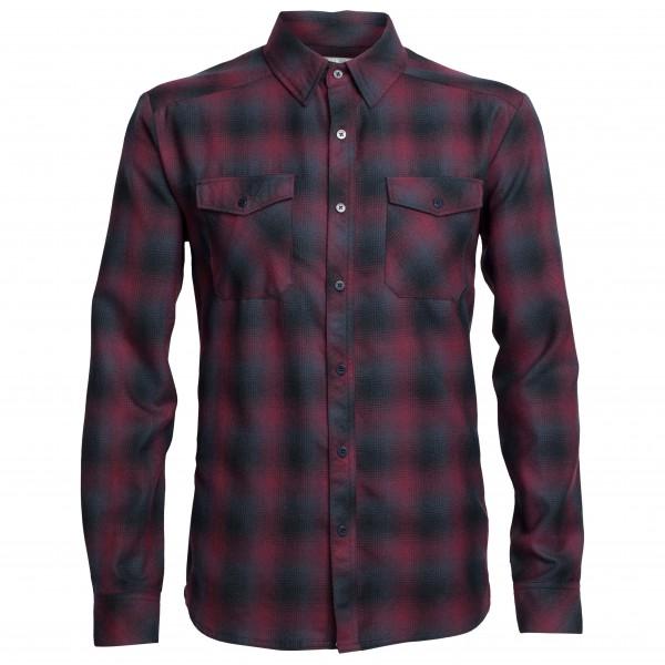 Icebreaker - Lodge L/S Flannel Shirt - Shirt