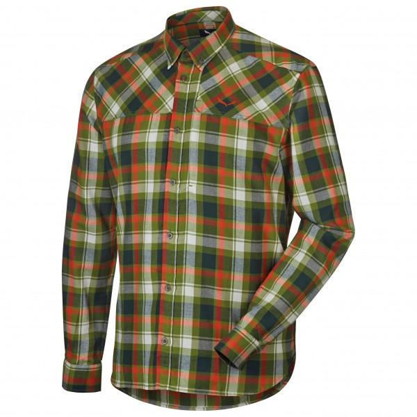 Salewa - Fanes Flannel PL L/S Shirt - Paita