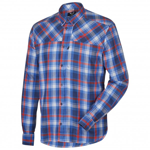 Salewa - Fanes Flannel PL L/S Shirt - Overhemd