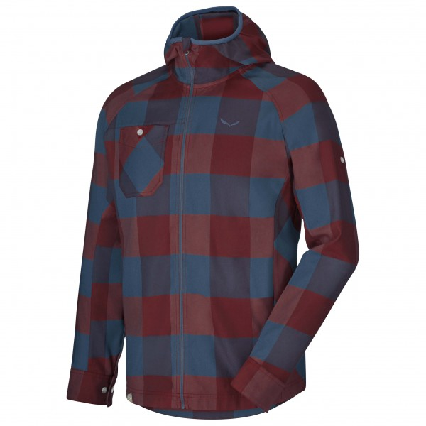 Salewa - Puez PL L/S Shirt - Overhemd