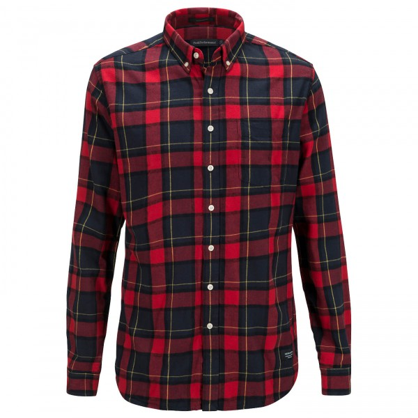 Peak Performance - Eric Flannel Shirt - Hemd