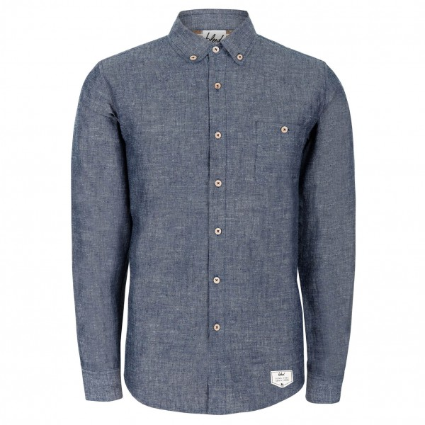 Bleed - Denim Hemp Shirt - Overhemd