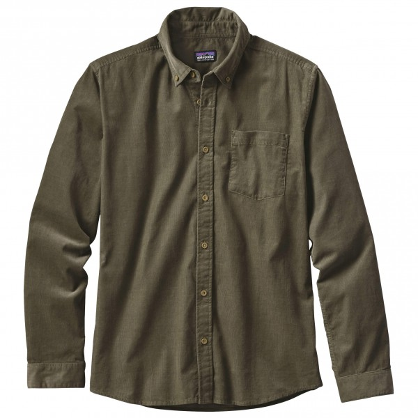 Patagonia - L/S Bluffside Cord Shirt - Chemise