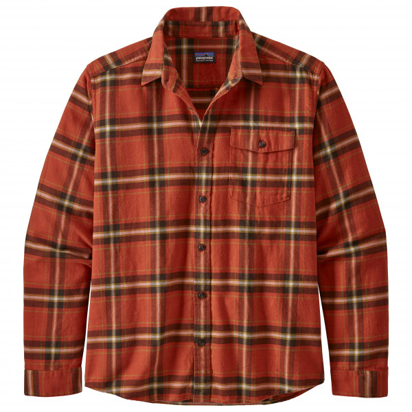Patagonia - L/S LW Fjord Flannel Shirt - Hemd