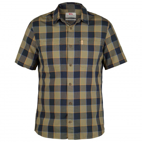 Fjällräven - High Coast Big Check Shirt S/S - Skjorte
