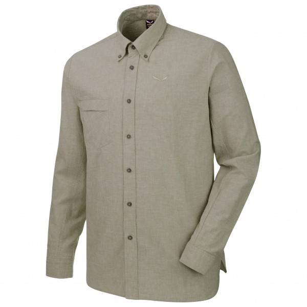 Salewa - Fanes Linen 2 Cotton L/S Shirt - Hemd