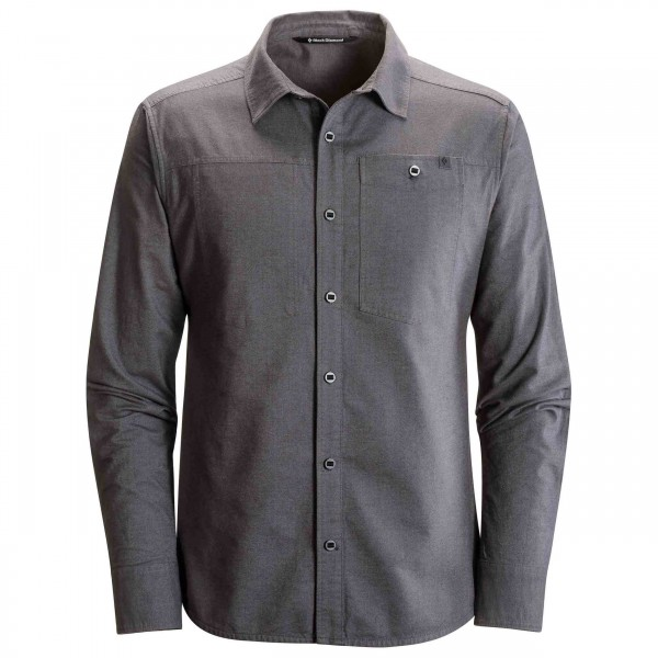 Black Diamond - L/S Chambray Modernist Shirt - Paita