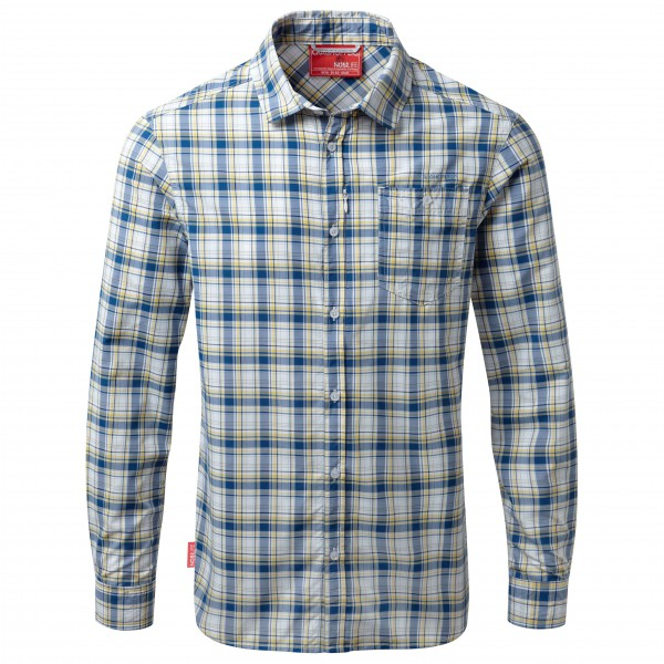 Craghoppers - NosiLife Prospect Long Sleeved Check Shirt - Skjorte