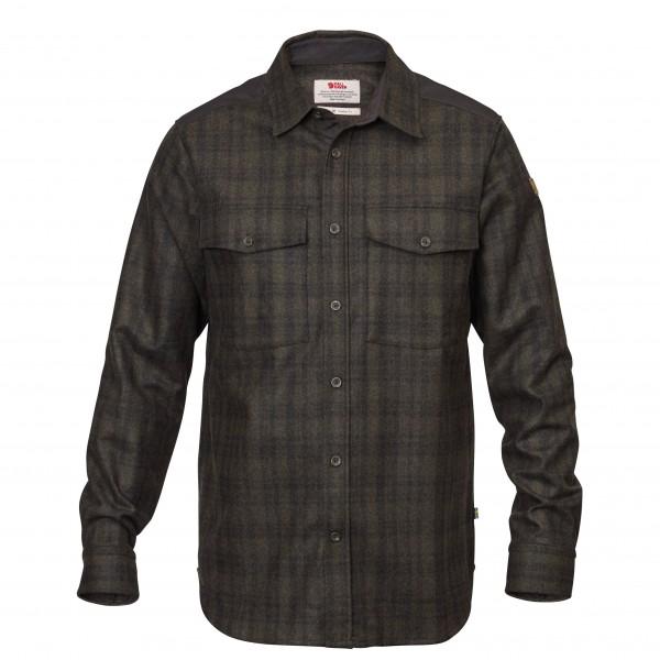 Fjällräven - Övik Re-Wool Shirt L/S - Skjorte