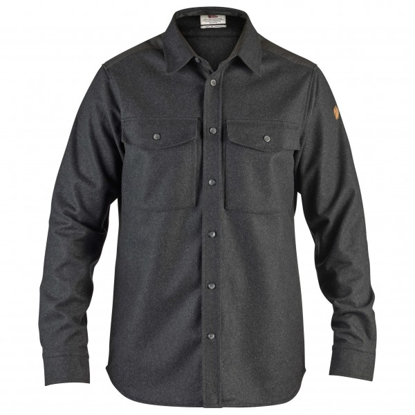 Fjällräven - Övik Re-Wool Shirt L/S - Hemd