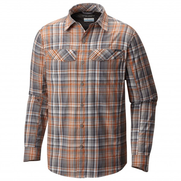 Columbia - Silver Ridge Plaid Long Sleeve Shirt - Overhemd