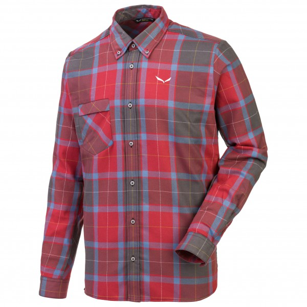 Salewa - Fanes Flannel 2 PL L/S SRT - Shirt