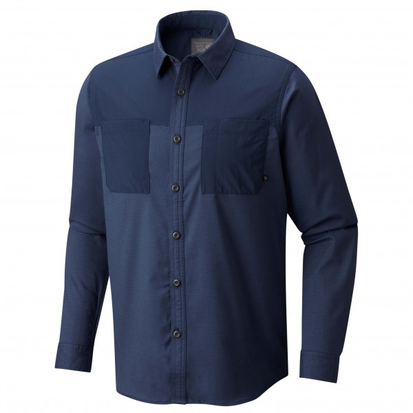 Mountain Hardwear - Stretchstone Utility Long Sleeve Shirt - - Paita