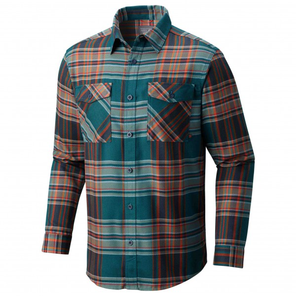 Mountain Hardwear - Trekkin Flannel Long Sleeve Shirt - Hemd