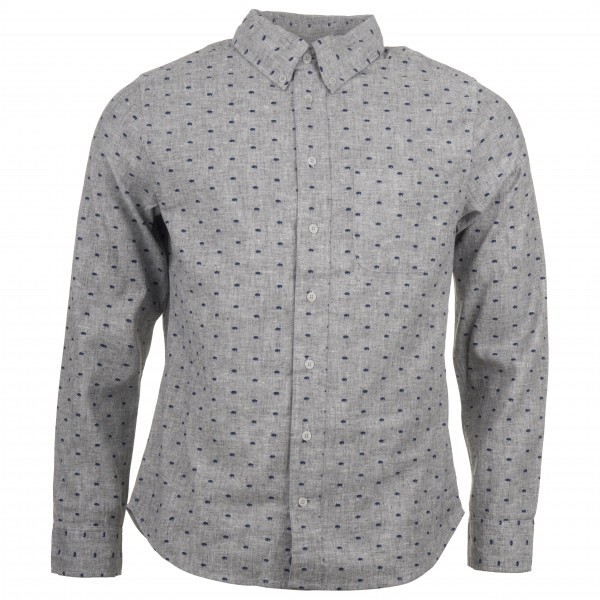 United By Blue - Bison Print Button Down - Camicia