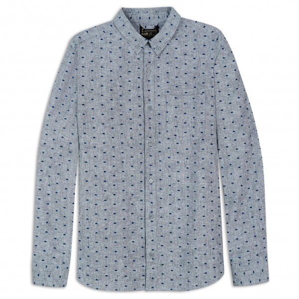 United By Blue - Bison Print Button Down - Camisa