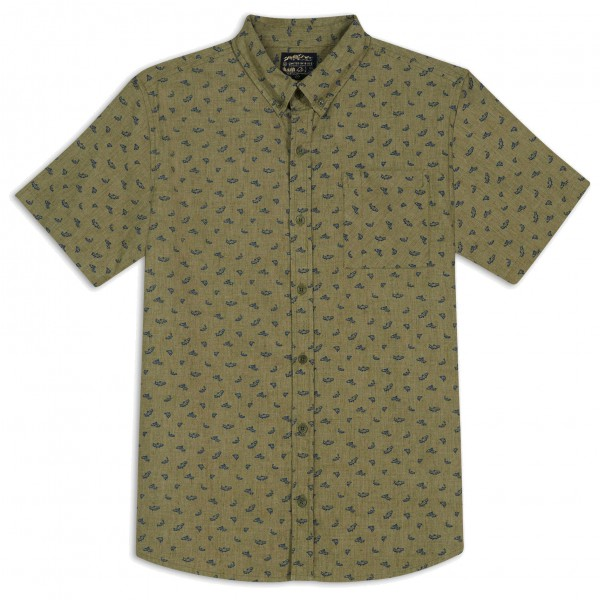 United By Blue - Upstream Print Button Down - Chemise