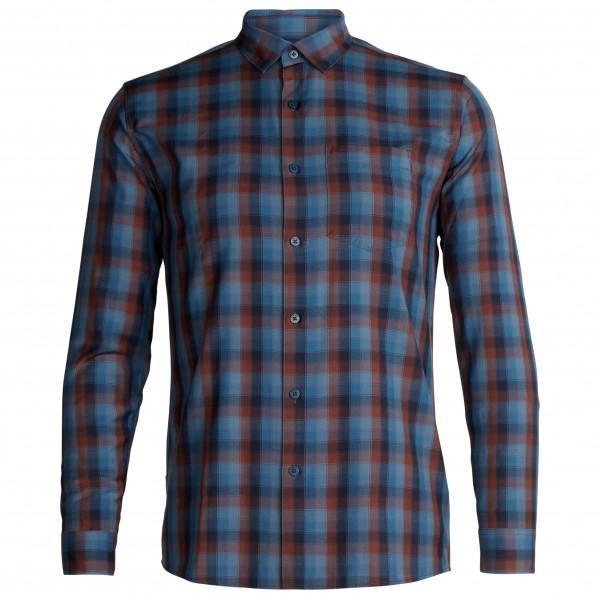 Icebreaker - Departure II L/S Shirt - Hemd